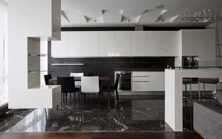 Квартира. кухня из проекта , фото №21653