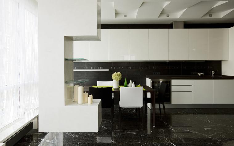 Квартира. кухня из проекта , фото №8076