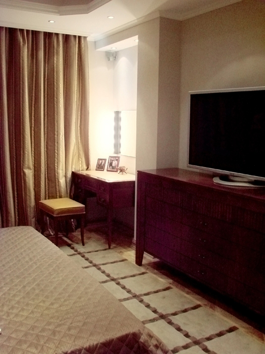 Квартира. спальня из проекта , фото №8117