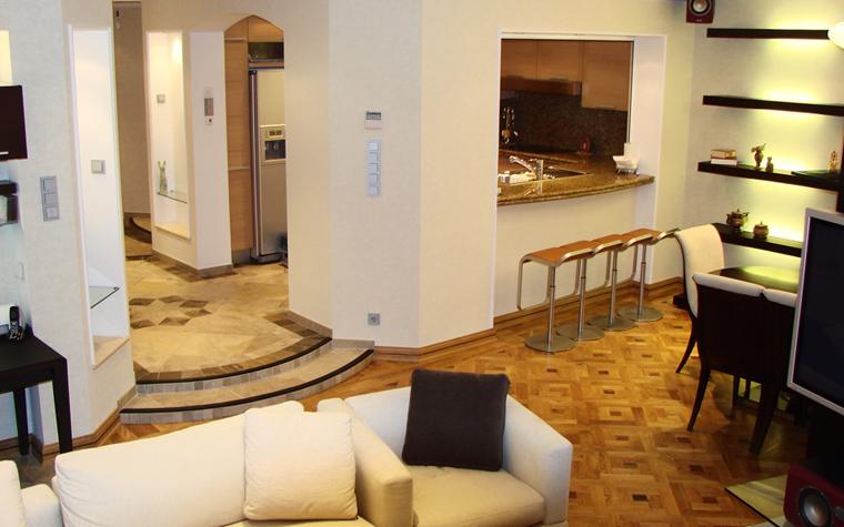интерьер гостиной - фото № 8109