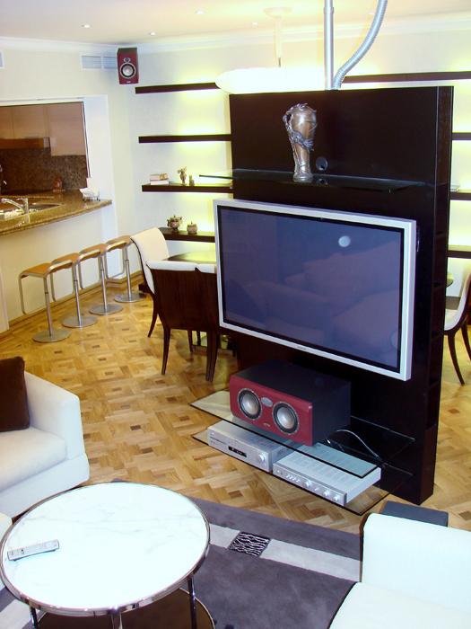 интерьер гостиной - фото № 8110