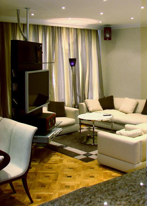 интерьер гостиной - фото № 8111