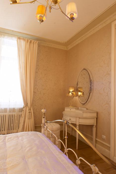 Квартира. спальня из проекта , фото №8246