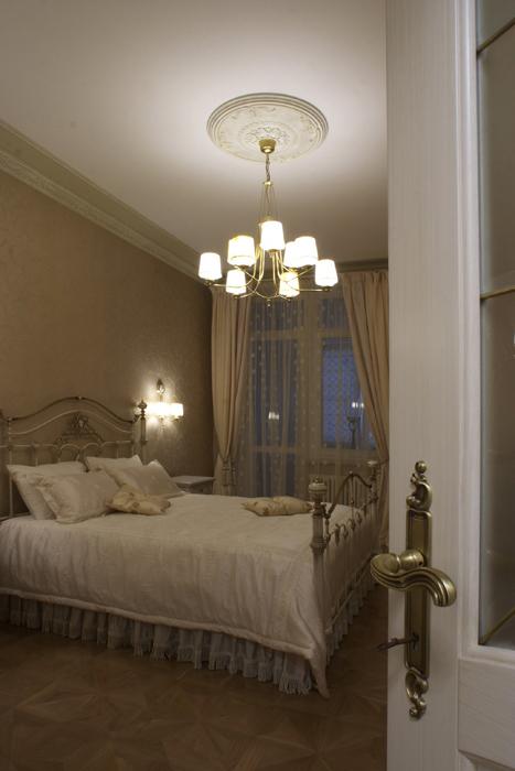 Квартира. спальня из проекта , фото №8242