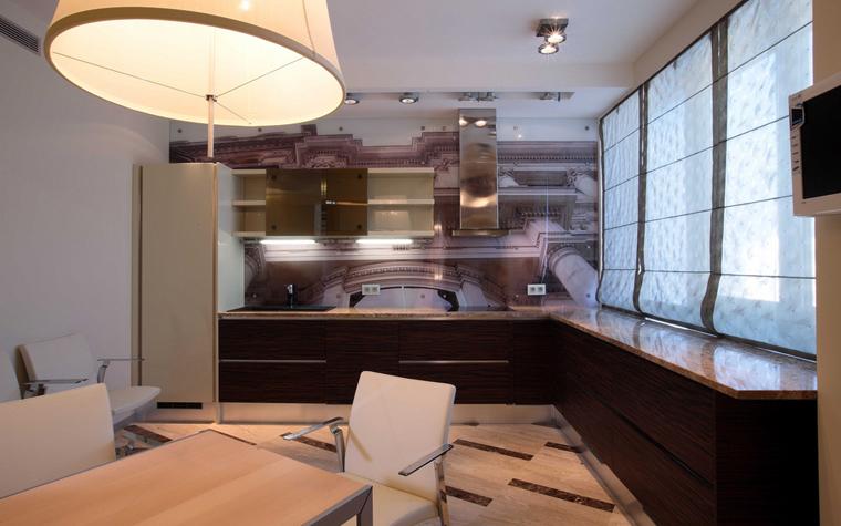 Квартира. кухня из проекта , фото №8274