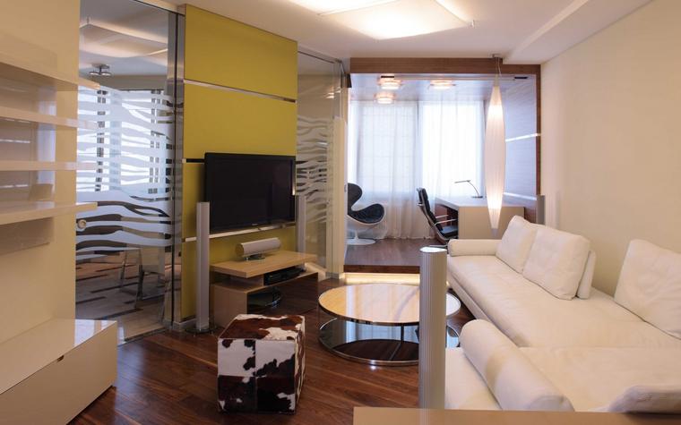 Квартира. гостиная из проекта , фото №8259