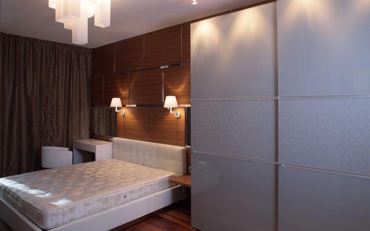 Квартира. спальня из проекта , фото №8266