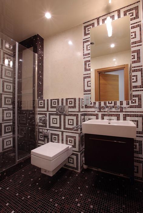 Квартира. ванная из проекта , фото №8272