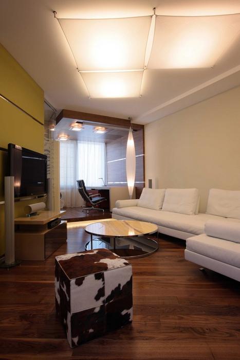 Квартира. гостиная из проекта , фото №8260