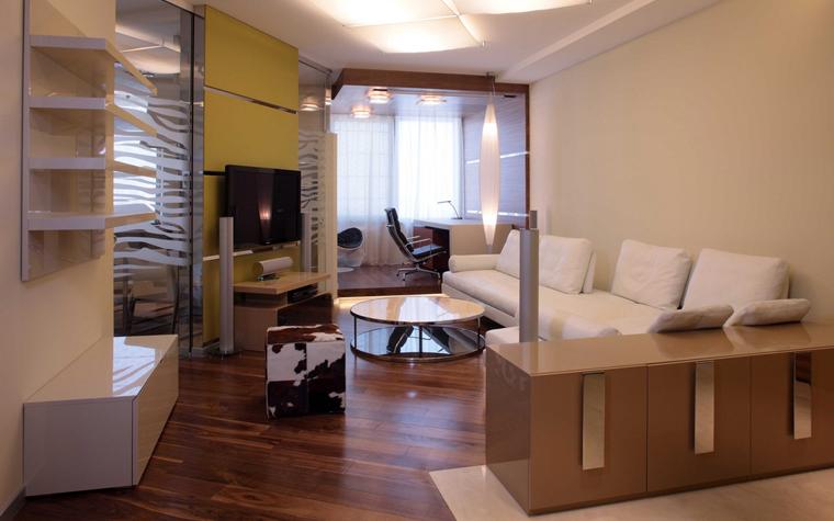 Квартира. гостиная из проекта , фото №8261