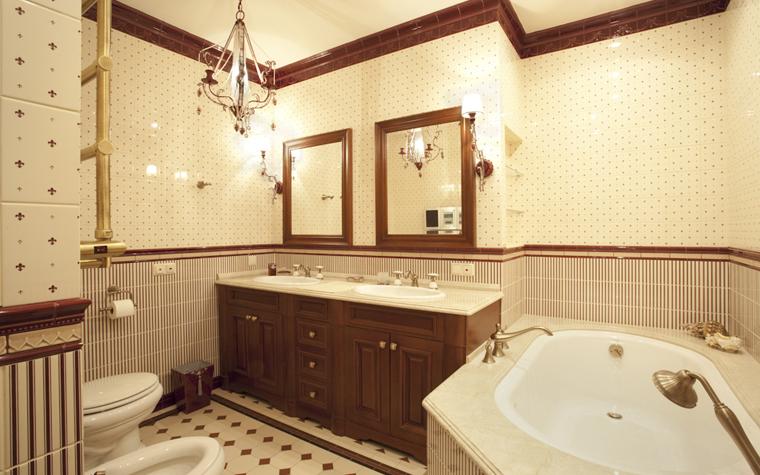 Квартира. ванная из проекта , фото №8294
