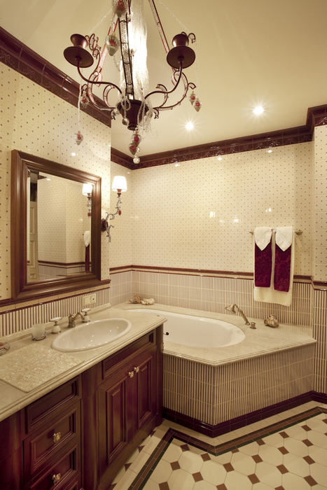 Квартира. ванная из проекта , фото №8295