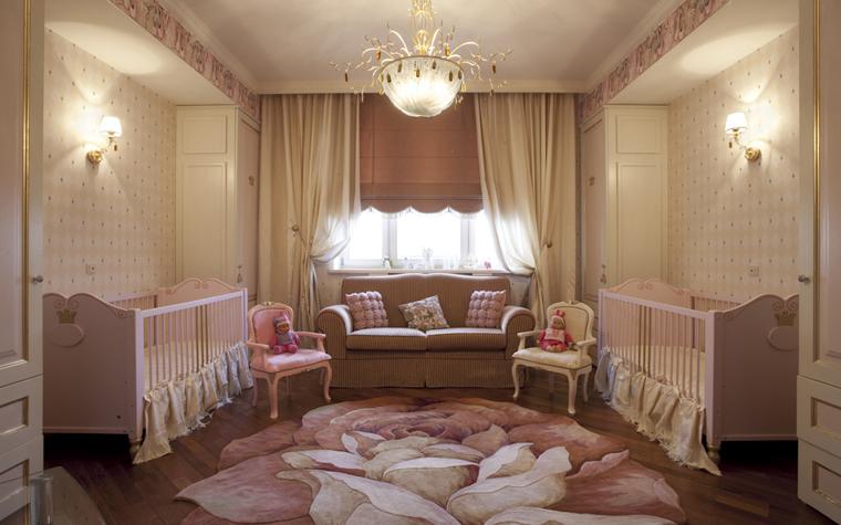 <p>Автор проекта: Юлия Маркос.&nbsp;</p> <p>Эта спальня предназначена для совершенных младенцев, но женского пола. </p>