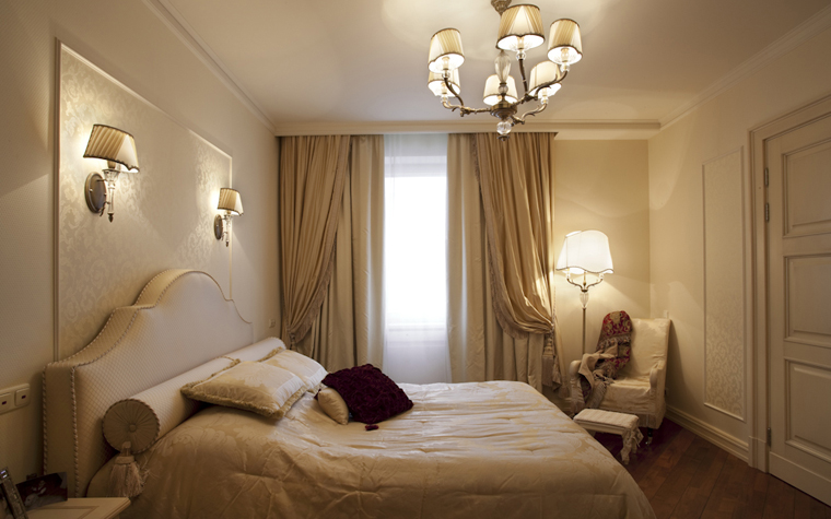 Квартира. спальня из проекта , фото №8298