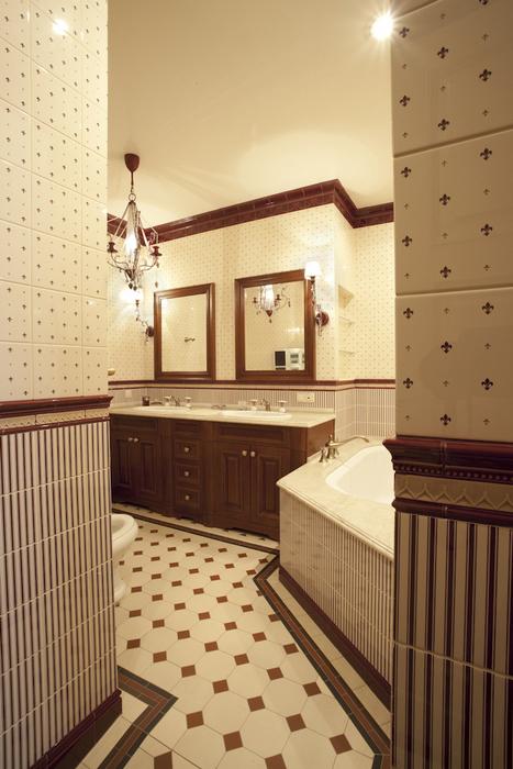 Квартира. ванная из проекта , фото №8293