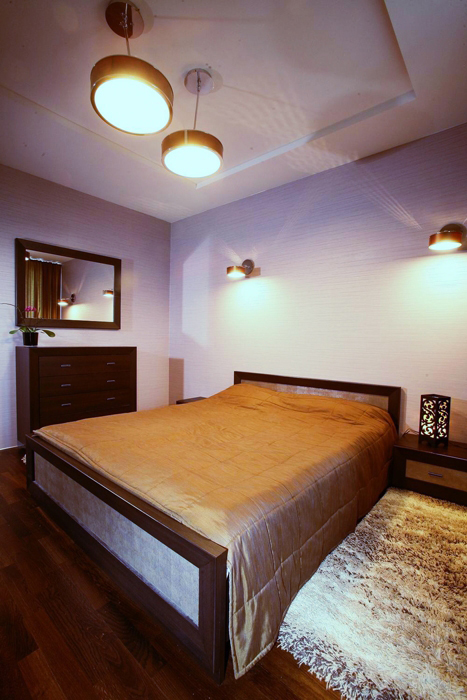 интерьер спальни - фото № 8424
