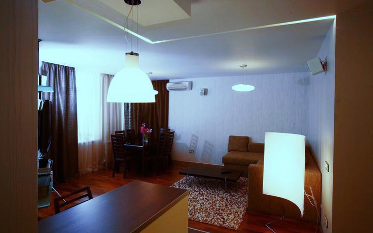 Квартира. гостиная из проекта , фото №8432