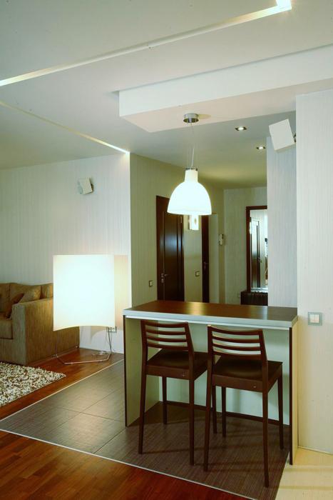 Квартира. кухня из проекта , фото №8427