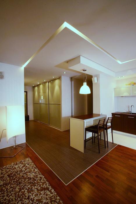 Квартира. кухня из проекта , фото №8428