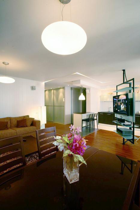 Квартира. гостиная из проекта , фото №8418