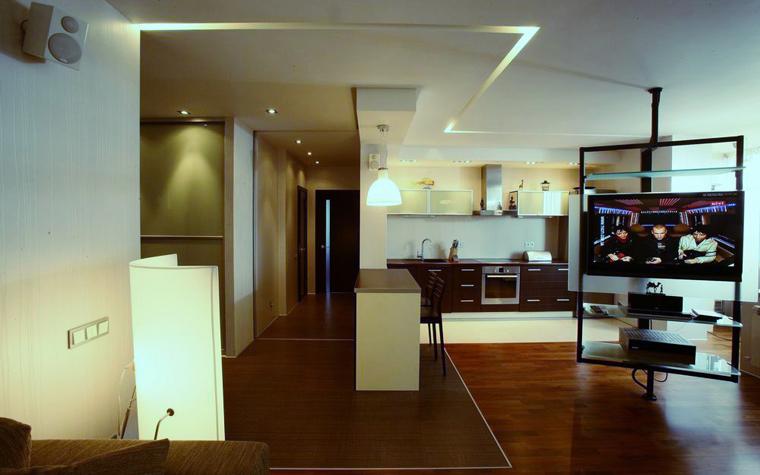 Квартира. кухня из проекта , фото №8431