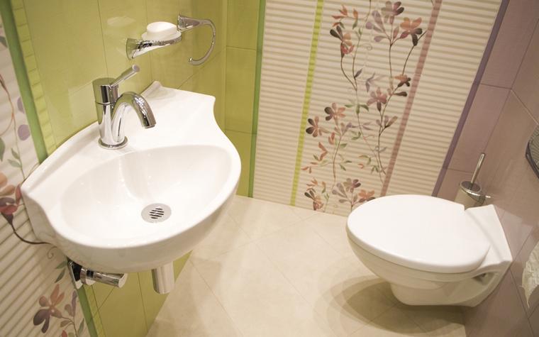 Квартира. ванная из проекта , фото №8448