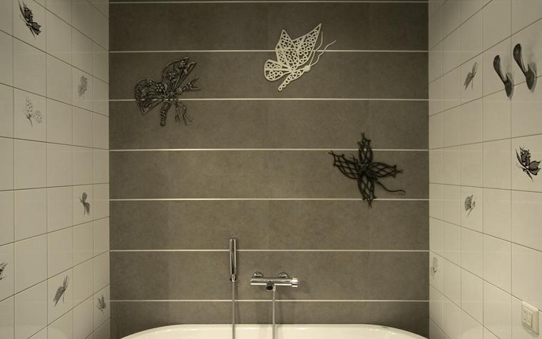 Квартира. ванная из проекта , фото №8447