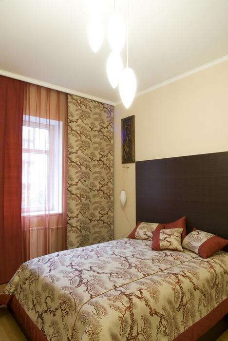 Квартира. спальня из проекта , фото №8452