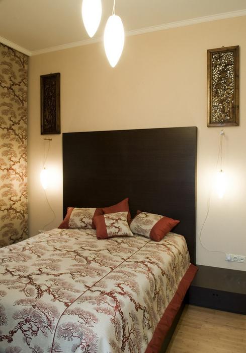 Квартира. спальня из проекта , фото №8455