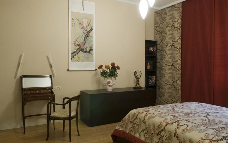Квартира. спальня из проекта , фото №8457