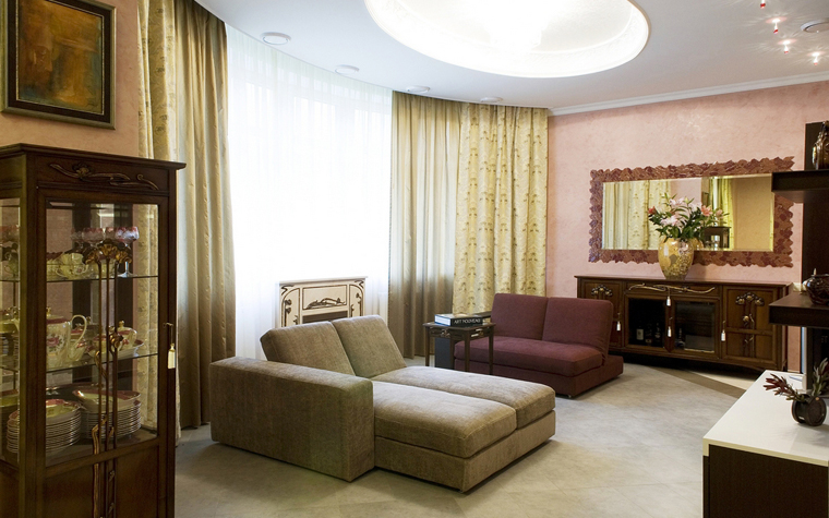 Квартира. гостиная из проекта , фото №8458