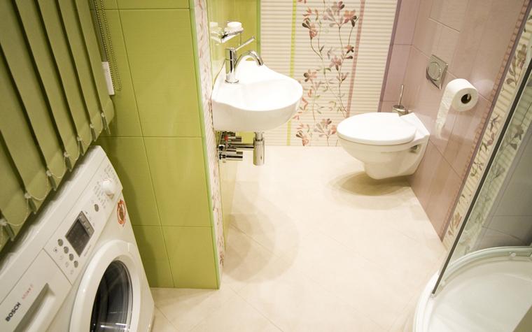 Квартира. ванная из проекта , фото №8449