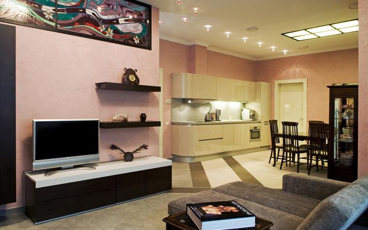 Квартира. столовая из проекта , фото №8466