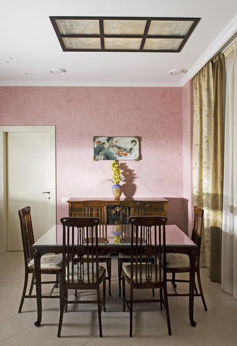 Квартира. столовая из проекта , фото №8467