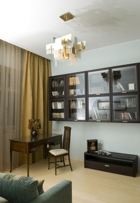 Квартира. кабинет из проекта , фото №8469