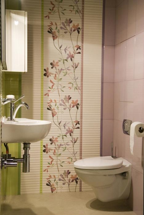 Квартира. ванная из проекта , фото №8450