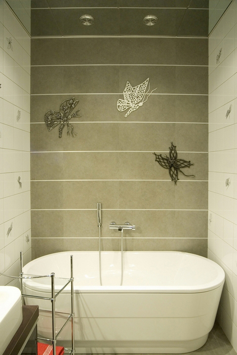 Квартира. ванная из проекта , фото №8442