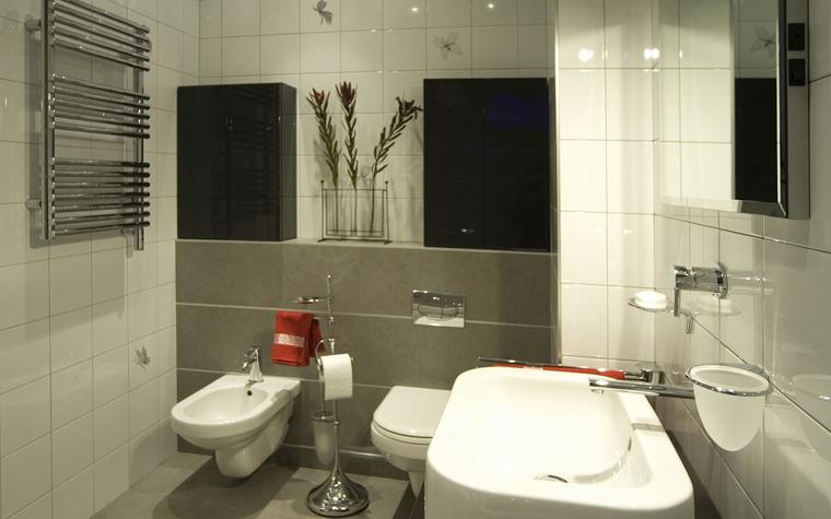 Квартира. ванная из проекта , фото №8444