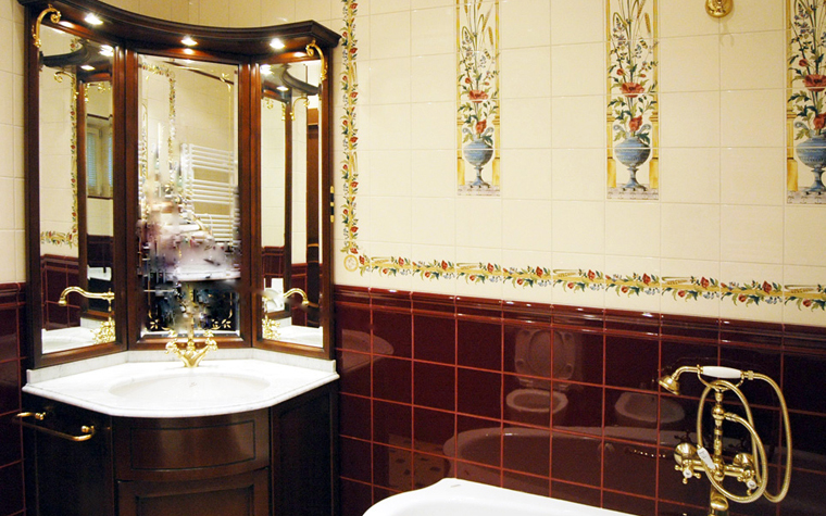 интерьер ванной - фото № 8508