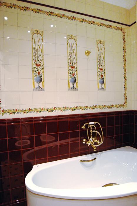 интерьер ванной - фото № 8510