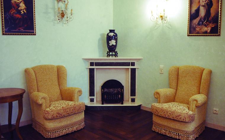 интерьер гостиной - фото № 8499