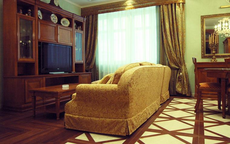 интерьер гостиной - фото № 8500