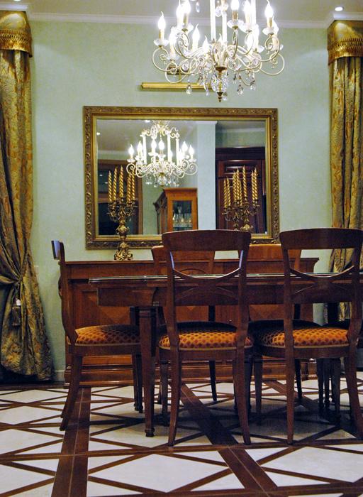 интерьер гостиной - фото № 8501