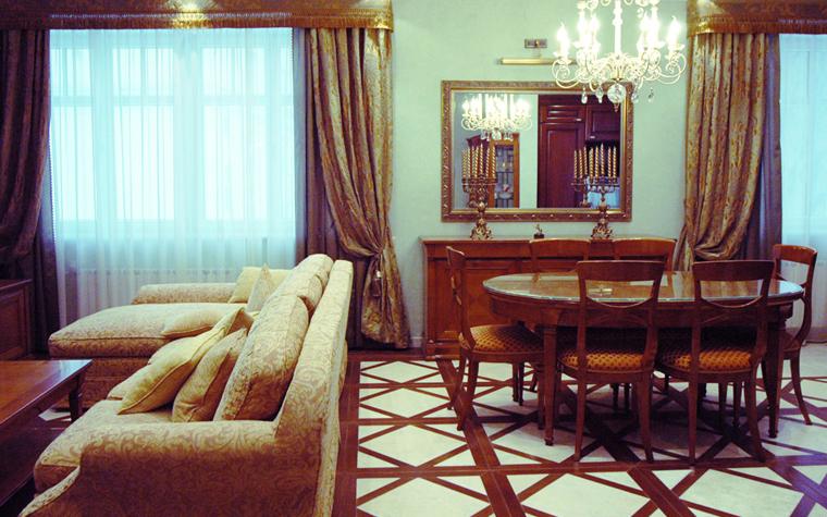 интерьер гостиной - фото № 8502