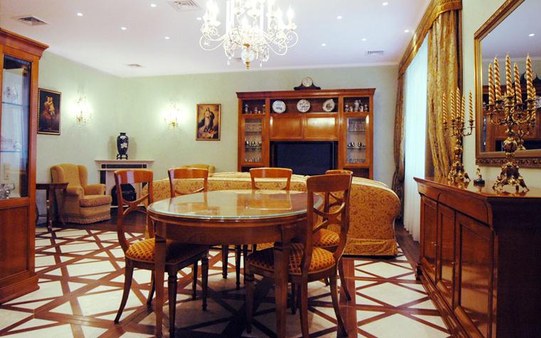 интерьер гостиной - фото № 8503
