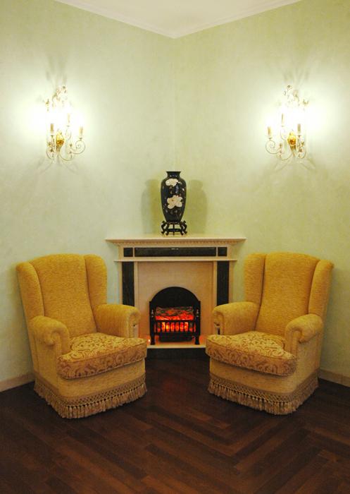 интерьер гостиной - фото № 8522
