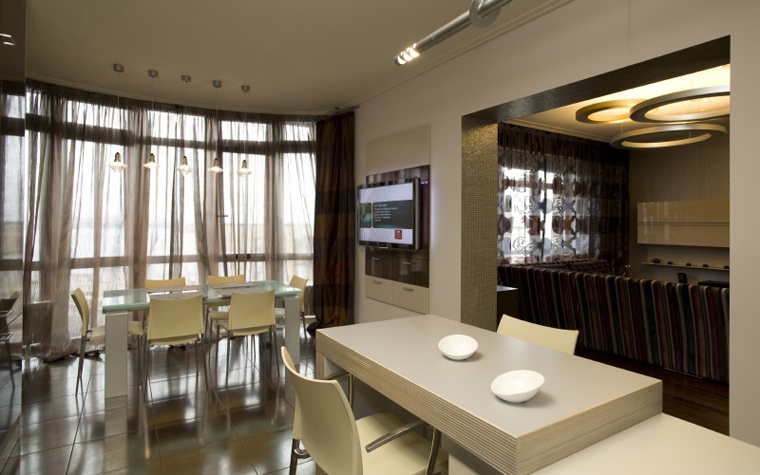 Квартира. кухня из проекта , фото №8528