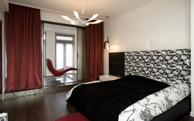 интерьер спальни - фото № 8527