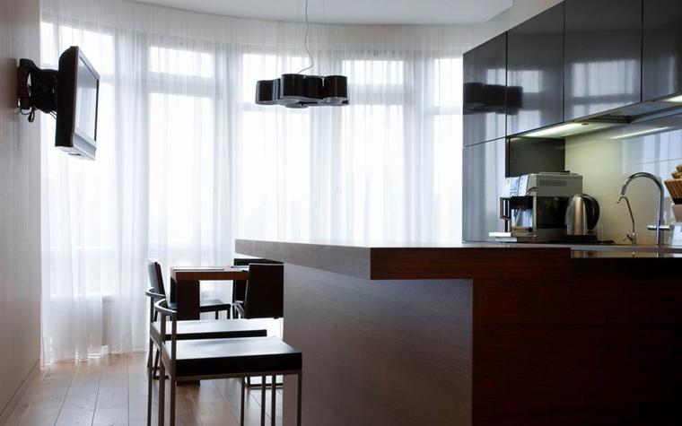 Квартира. кухня из проекта , фото №8536