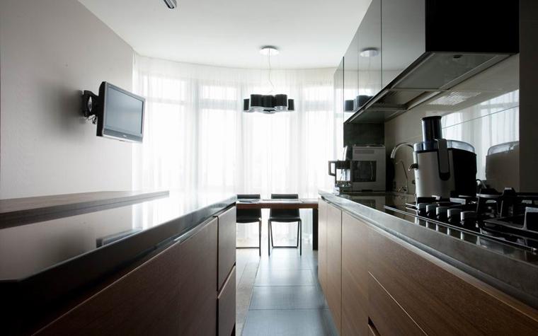 Квартира. кухня из проекта , фото №8538